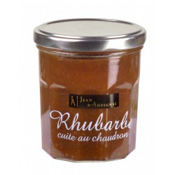 RHUBARBE CUITE AU CHAUDRON