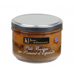 PATE BASQUE PIMENT ESPELETTE 220 GR