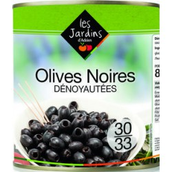 OLIVES NOIRES DENOYAUTEES 4/4