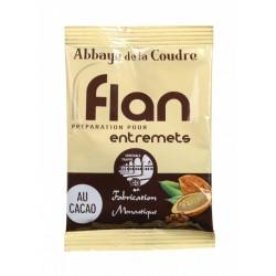 FLAN CHOCOLAT ABBAYE LA COUDRE BTE 10 SACHETS