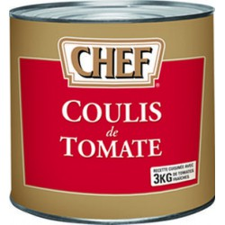 COULIS TOMATE 3/1