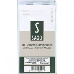 CARNET TRIPLI   X 10 SAXO