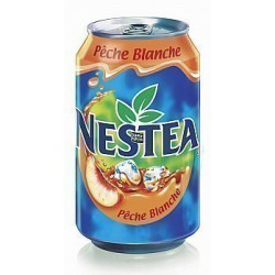 ICE TEA/NESTEA PECHE 33 CL LE PACK DE 24