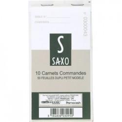CARNET DUPLI X 10 P. M. SAXO