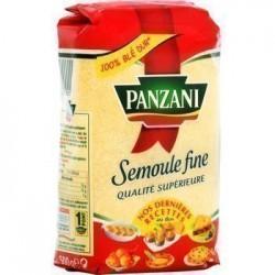 SEMOULE FINE PANZANI 500 GR