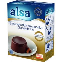 ENTREMET CHOCOLAT ALSA 1.100 KG