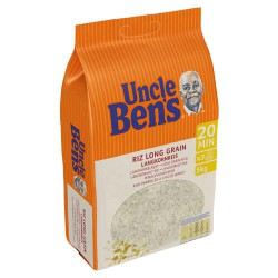 RIZ LONG UNCLE BENS LE SAC DE 5 KG
