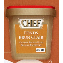 FOND BRUN CLAIR CHEF