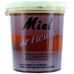 MIEL FLEURS  POT DE 1 KG