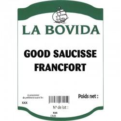 GOOD SAUCISSE FRANCFORT LE SAC 5 KG