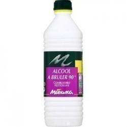 ALCOOL A BRULER FLACON 1 L.