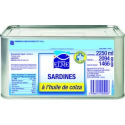 SARDINES A L' HUILE 3/1