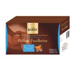 PAILLETE FIN CHOCOLAT LA BOITE DE 2 KG