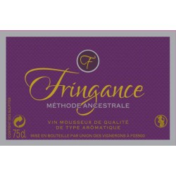 VIN FRINGANCE ROSE METHODE ANCESTRALE 75 CL