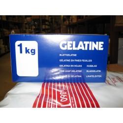 GELATINE FEUILLES.OR P1K