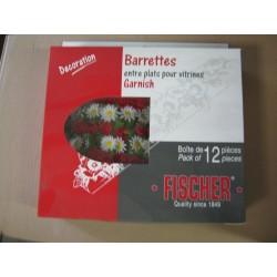 BARETTE ROSES + MARGUERITES