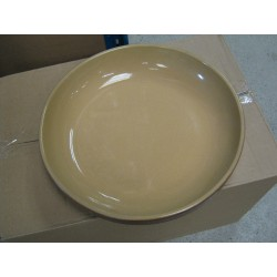 PLAT ROND REBORD EMPILABLE