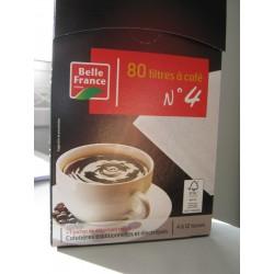 FILTRES A CAFE N° 4 MELITTA X 80