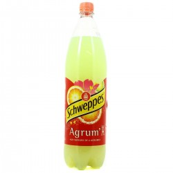 SCHWEPPES AGRUMES 5 X 1.5L + 1 GT