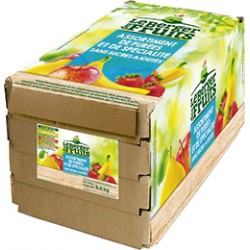 PUREE  FRUITS ASSORT. BQT 100 g  X 96