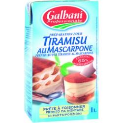 PREP TIRAMISU MASCARPONE BRIC 1L  GALBANI