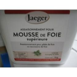 ASSAISONNEMENT POUR MOUSSE DE FOIE SUP POT DE 1 KG