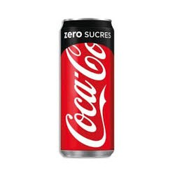 COCA COLA ZERO 33 CL LE CT DE 24